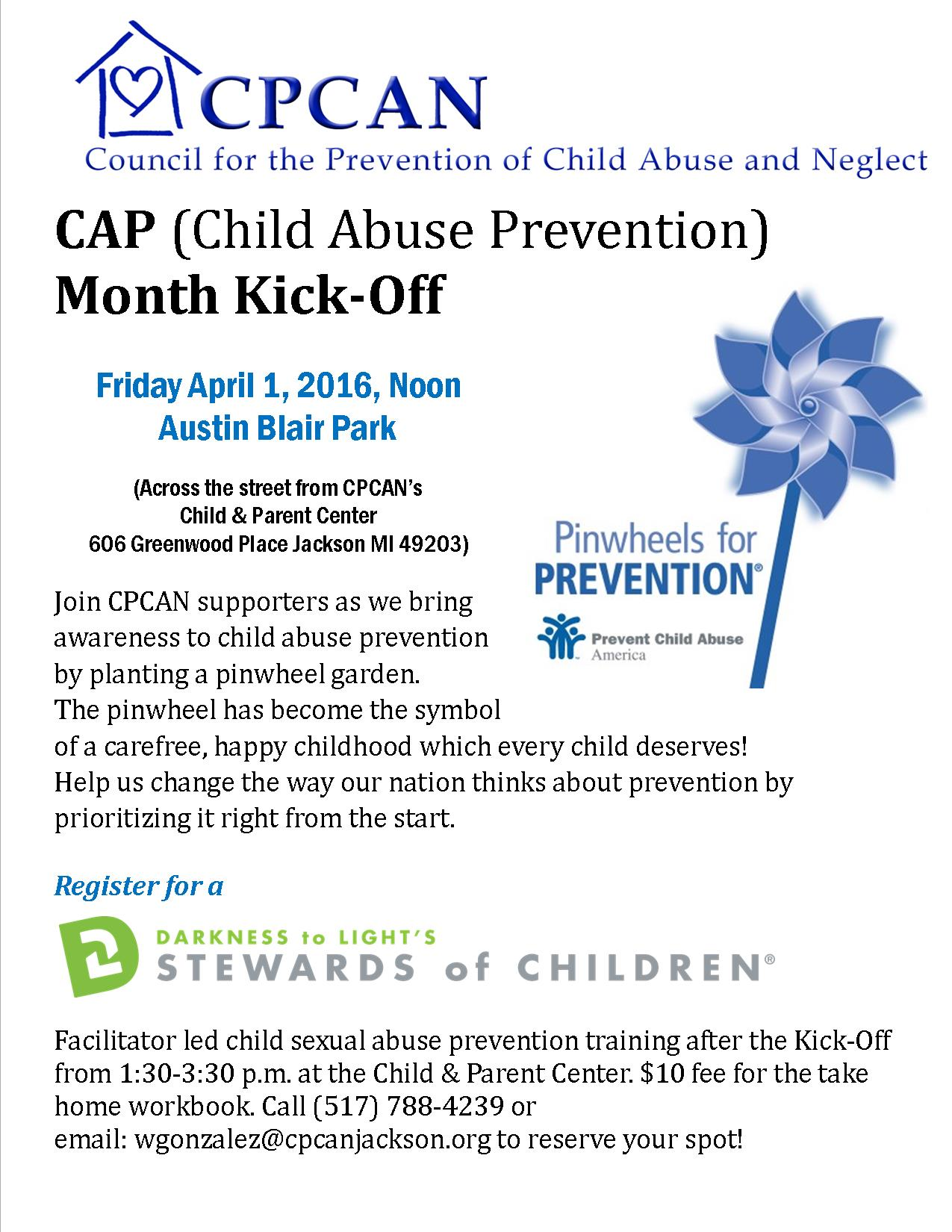 Great Start Collaborative Of Jackson County Child Abuse Prevention